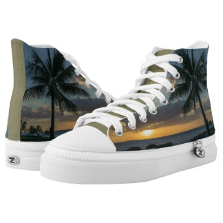Sunset - Beach Printed Shoes