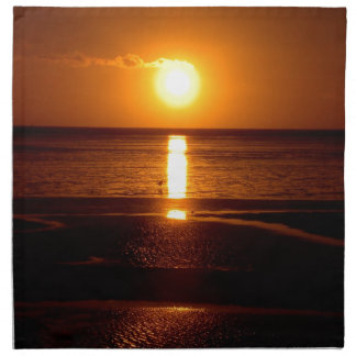 Sunset Beach Scene.JPG Napkin