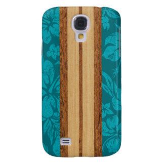 Sunset Beach Surfboard Hawaiian Galaxy S4 Case