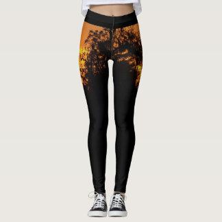Sunset Beauty Leggings Yoga Pants