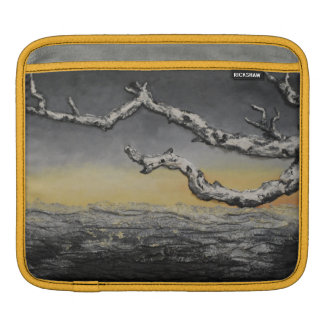 Sunset Beneath the Storm by Artist Alison Galvan iPad Sleeves