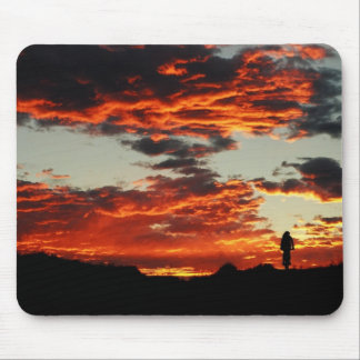 Sunset Bike Mouse Mat