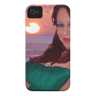 Sunset BlackBerry Bold Case-Mate Barely There™ iPhone 4 Cases