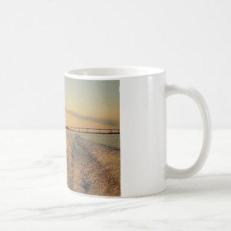 Sunset Boat Ride Classic White Coffee Mug