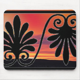 Sunset Border Mouse Pad