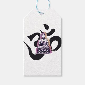 Sunset Buddah Ohm Gift Tags