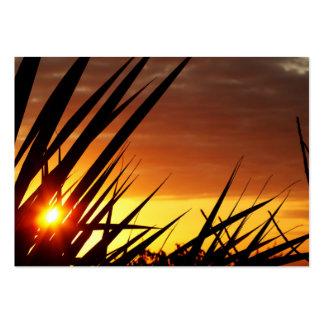 Sunset Business Card Template
