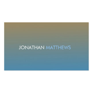Sunset Double-Sided Standard Business Cards (Pack Of 100)