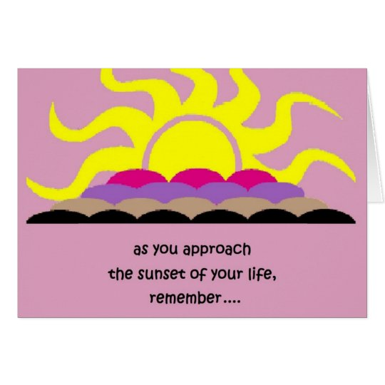 sunsetby peacewillow card