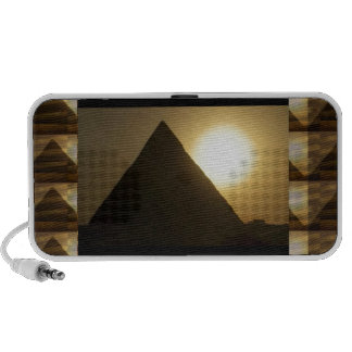 Sunset by PYRAMIDS of Egypt : Vintage Architecture Speaker