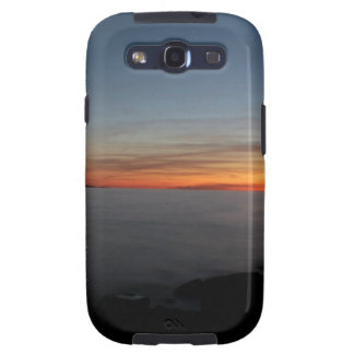 sunset by the lake, Kingston, Ontario,at twilight Samsung Galaxy S3 Cases