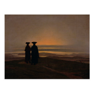 Sunset  c.1830-35 postcard