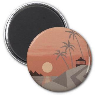 SUNSET CABANA magnet