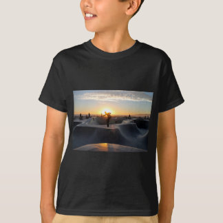Sunset California Dreams Skateboard Park Freestyle T Shirt