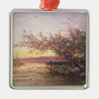 Sunset, Camargue Christmas Ornament