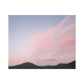 Sunset Canvas Canvas Print