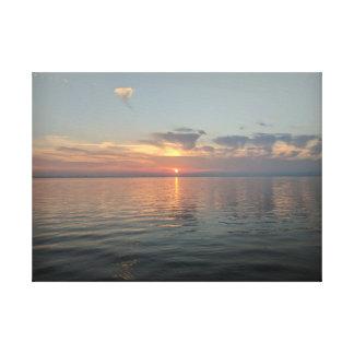 Sunset canvas photography