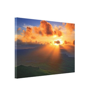 Sunset Gallery Wrap Canvas