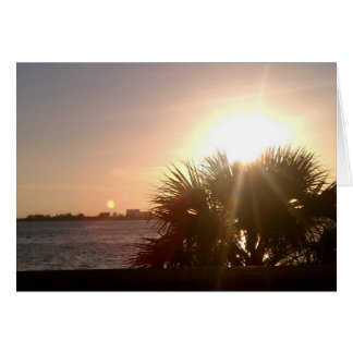 Sunset Celebration Card