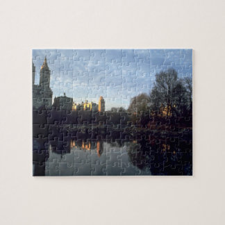 Sunset Central Park, NYC Jigsaw Puzzle