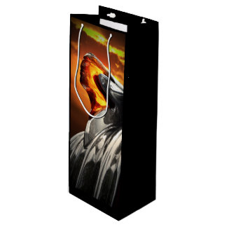 Sunset Chief Pontiac Chieftain Classic Car Wine Gift Bag