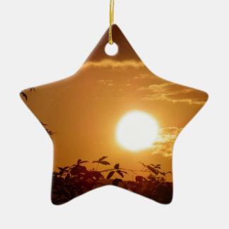 Sunset Christmas Ornament