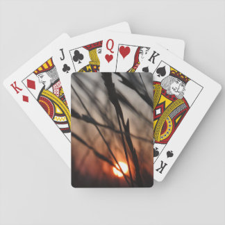 Sunset Classic Playing Cards