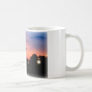 Sunset Classic White Mug