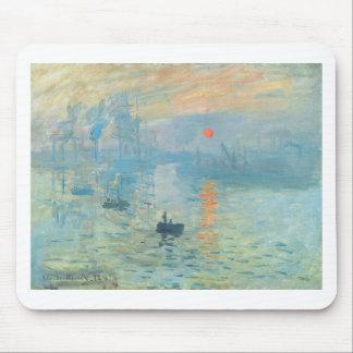Sunset - Claude Monet Mouse Pad