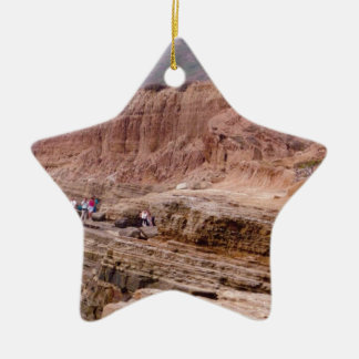 Sunset Cliffs San Diego CA Christmas Ornament