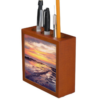Sunset Cliffs tide pools Desk Organiser