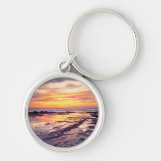 Sunset Cliffs tide pools Key Ring