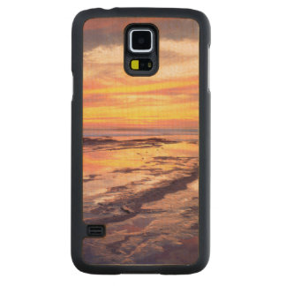 Sunset Cliffs tide pools Maple Galaxy S5 Case