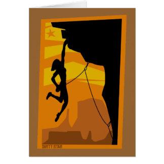 Sunset Climber Card