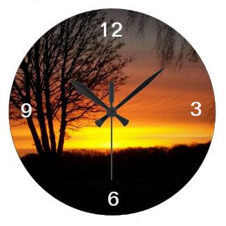 Sunset Clock