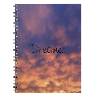 Sunset clouds notebook