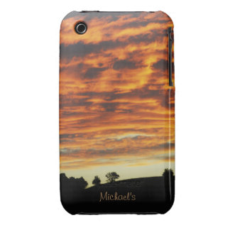 Sunset Cloudy Sky Samsung  Case-Mate Case iPhone 3 Covers