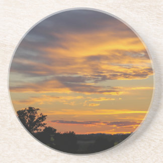 sunset coasters