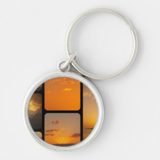 Sunset Collage Key Chains