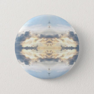 Sunset Collage Tie Dye 6 Cm Round Badge