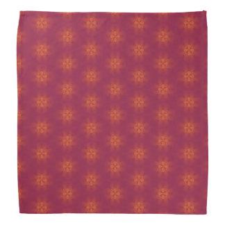 Sunset colored geometric design-bandana bandana