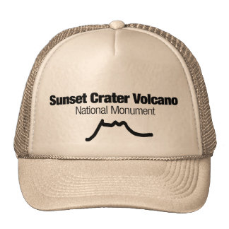 Sunset Crater Volcano National Monument Mesh Hat