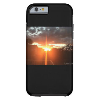 Sunset Cross phone case