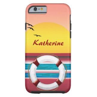 Sunset Cruise Custom iPhone 6 Case Tough iPhone 6 Case