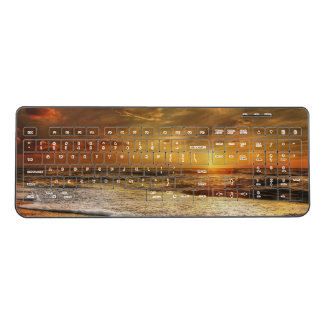 Sunset Custom Wireless Keyboard