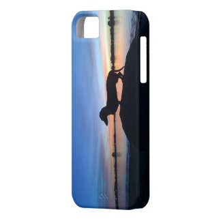 Sunset dachshund iPhone 5 cover