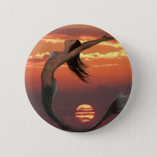 sunset dance 6 cm round badge