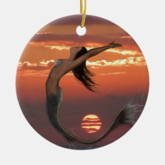 sunset dance christmas ornament
