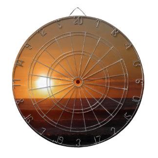 sunset dartboard