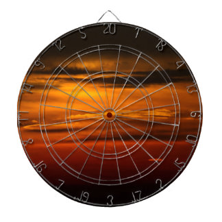 sunset dartboard